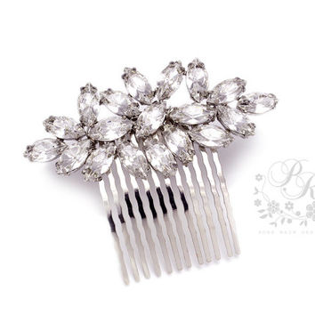 Wedding Hair Comb Rhinestone hair comb Wedding Jewelry Bridal Hair Comb Bridesmaid Hair Comb Hair accessory Head piece Wedding Accesories