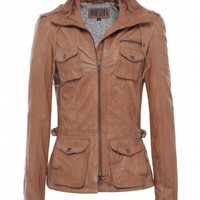 Jofama Light Brown Edith Leather Jacket