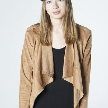 The Maxwell Suede Jacket