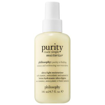 Purity Made Simple Ultra-Light Moisturizer - philosophy | Sephora