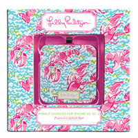 Lilly Pulitzer iPhone 5 Mobile Charger - Lobstah Roll
