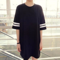 Baseball Tshirt Dress
