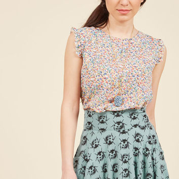 Sweet Standard Sleeveless Top