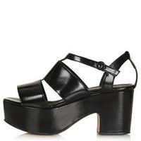 NIRAMA CUT OUT MID SANDALS