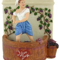 I Love Lucy Grape Stomping Musical Figure