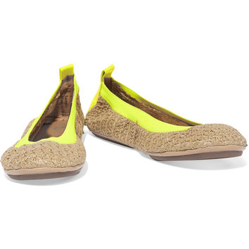 Yosi Samra Raffia ballet flats – 50% at THE OUTNET.COM