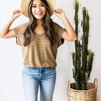 Twila Striped Tee