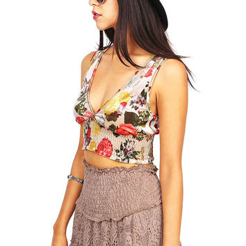Sheen Oasis Crop Top