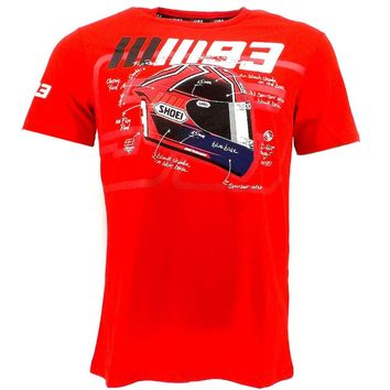 NEW 2018 Marc MM93 Marquez Moto GP T-shirt Motorcycle Racing Sports ATV MX Ant Red T-shirt