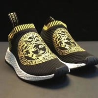 Adidas NMD x VERSACE Fashion Sneakers Sport Shoes