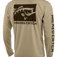 Lunker Largemouth Performance Fishing Shirt