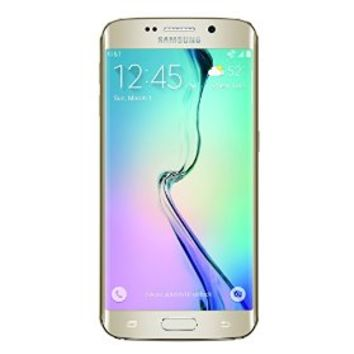 Samsung Galaxy S6 Edge, Gold Platinum 128GB (AT&T)