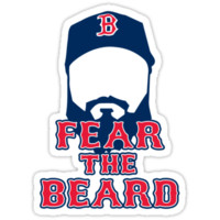Red Sox - Fear The Beard