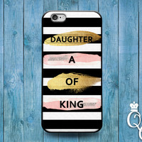 iPhone 4 4s 5 5s 5c 6 6s plus iPod Touch 4th 5th 6th Generation Cute Bible Christian Phrase Quote Pink Gold Black White Phone Cover Fun Case