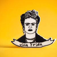 Frida Kahlo Pin - Viva Frida