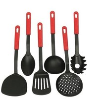 Urijk Quality 6pcs/set Non-Stick Nylon Cooking Tools Set Kitchen Gadget Utensils Scald-proof Cookware Accessories