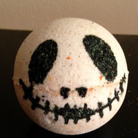 Sally and Jack Skellington Bath Bomb
