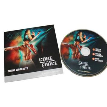 Zumba Fitness DVD Beachbody Core De Force 4 DVD