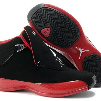 Air Jordan 18 (xviii) Black/varsity Red Online 332565-991 - Beauty Ticks