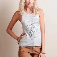 Howling Muscle Tank By Chaser