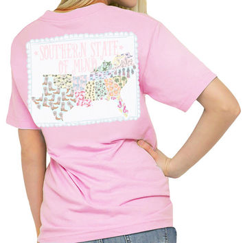 "Southern Girl Prep  ""Southern States"" Short Sleeve T-shirt"