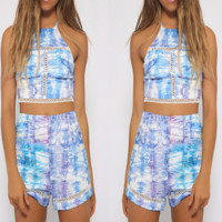 Angelic Tie-Dye Two-Piece