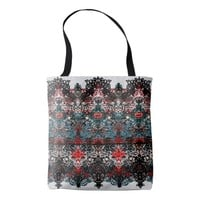 Elegant lace pattern in noble colors-Art Nouveau Tote Bag