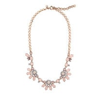 Translucent flower necklace - necklaces - Women's jewelry - J.Crew