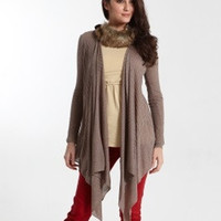 Sangha Knitted Cardigan Wrap | Great for nursing