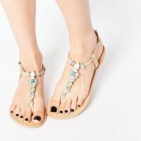 ASOS FAKED Leather Sandals