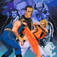 Art of Fighting Neo Geo Video Game Poster 18x24