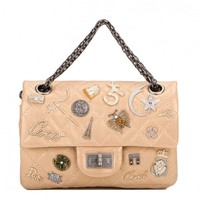 Chanel Gold Reissue 2.55 Lucky Charm Bag