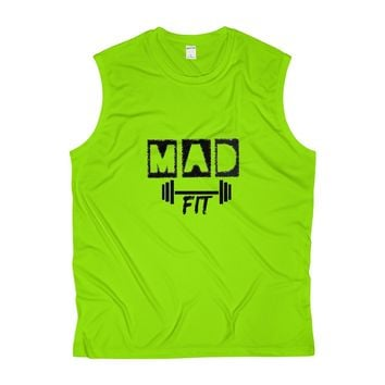 MAD Fit Men's Sleeveless Performance Tee