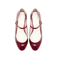 BALLERINA SHOES WITH ANKLE STRAP - Shoes - Woman | ZARA United States