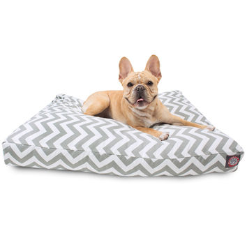 Majestic Pet UV-Treated Chevron Rectangle Dog Bed   Overstock.com Shopping - The Best Deals on Other Pet Beds