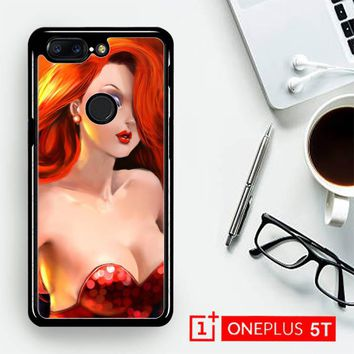 Jessica Rabbit Z1527  OnePLus 5T / One Plus 5T Case