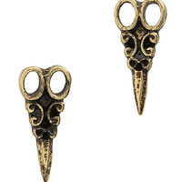 LOVEsick Scissor Earrings