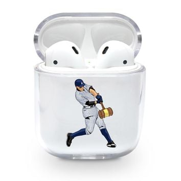 Aaron Judge Home Run Airpods Case