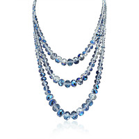 Bling Jewelry Say it in Blue Beads