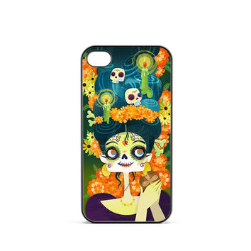 Day Of Dead Party iPhone 4 / 4s Case