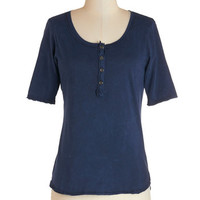 ModCloth Mid-length Short Sleeves Casual Afternoon Top
