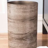 ModCloth Rustic Catch My Driftwood Trash Can