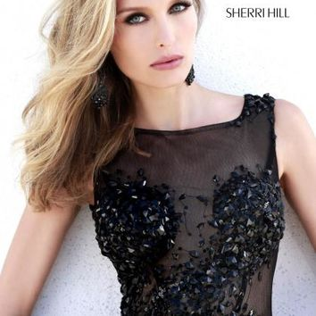 2014 Sherri Hill Fitted Homecoming Dress 39000