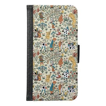 Alice in Wonderland Samsung Galaxy S6 Wallet Case