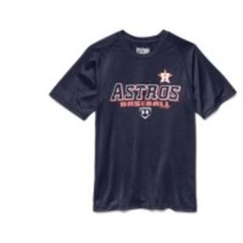 Under Armour Boys' Houston Astros UA Tech T-Shirt