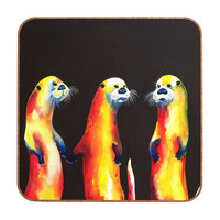 Clara Nilles Flaming Otters Wall Art