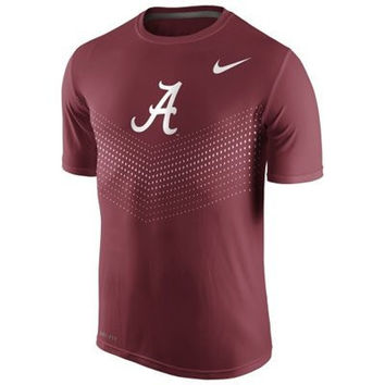 NCAA Men's Nike Crimson Alabama Crimson Tide 2015 Sideline Legend Dri-FIT Performance T-Shirt