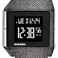 Men's DIESEL 'Big Bet' Digital Bracelet Watch, 41mm x 46mm - Black