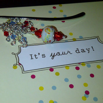 "An ""It's Your Day"" Book and Matching Bookmark"