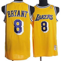 Los Angeles Lakers Kobe Bryant #8 Throwback Home Jersey